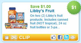 Libby Fruit Coupon